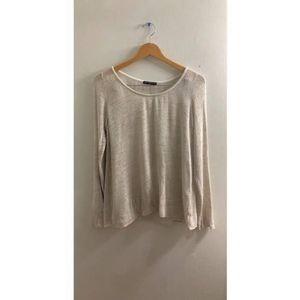 Brandy Melville Oatmeal Sweater